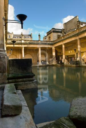 The Roman Baths outside your door!
