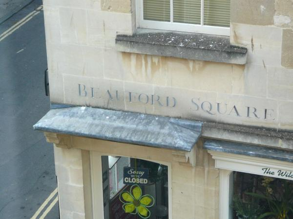 Beauford Square - your view from the lounge