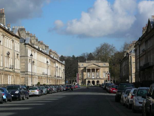 The Coach House is around the corner from the Holbourne Museum at the top of Great Pulteney Street!