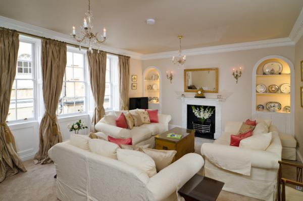 Characterful sitting room