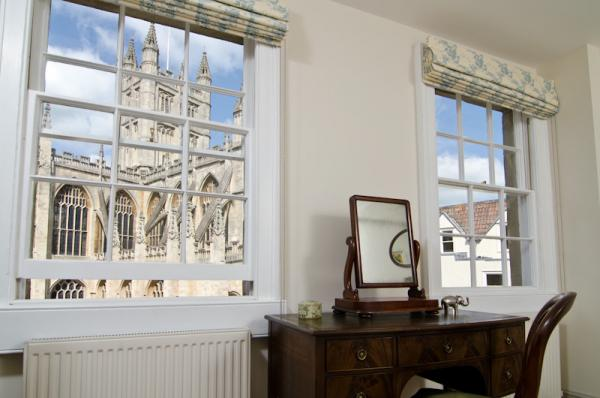 The Abbey from the blue bedroom