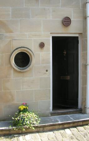 The Front Door to the Coach House