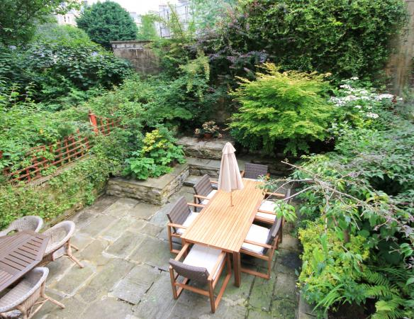 Dine Alfresco Within The Private Garden