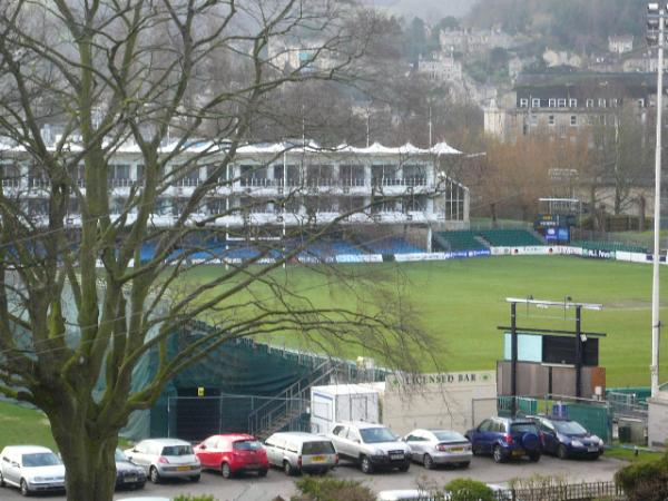 Grand View of the Rugby Pitch from the Living Room