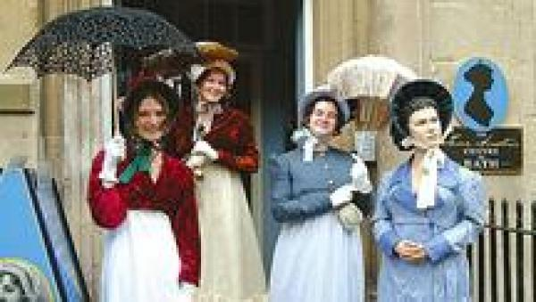 Jane Austen Centre is around the corner!