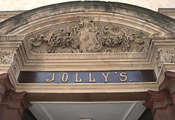 Jolly's - our oldest Department Store is on the other side of the street!