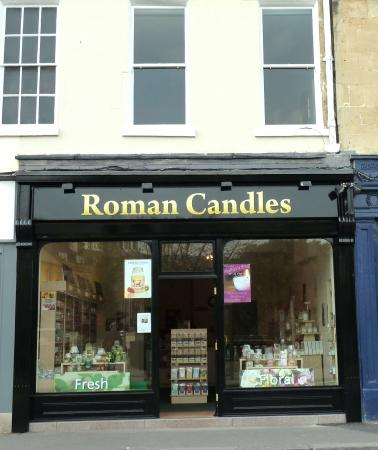 The New Candle Shop is around the corner