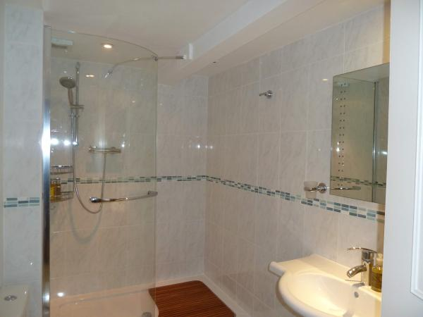 Large modern shower room