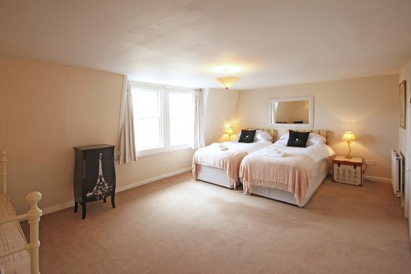 The lovely top bedroom
