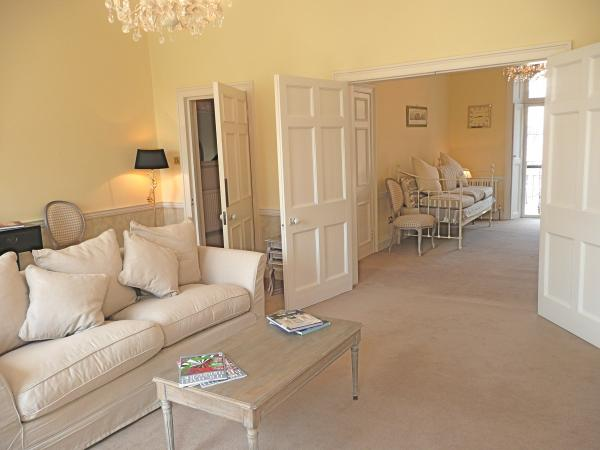 Drawing Room With Wedding Doors Through to Withdrawing Room
