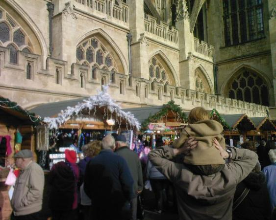 Bath's Christmas Market will be all around you in November!