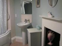 The pretty bathroom