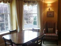 The period dining room