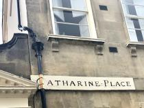Sign for Catherine Place