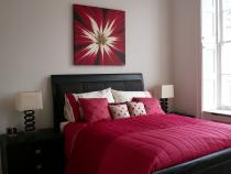 The Red Bed, the Bedroom