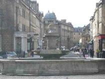 Laura Place - and into the Centre of Bath