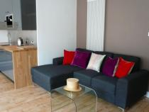 The Open Plan Living room with sofa in view